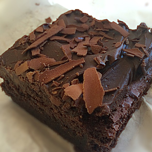 Rich Belgian Chocolate Cake Slice
