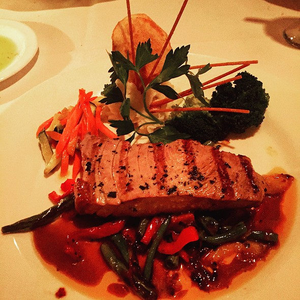 Grilled Swordfish @ Casa Guiseppe