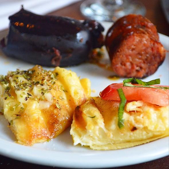 Provoleta, Chorizo And Morcilla