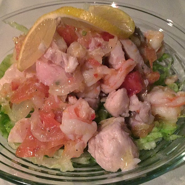Red Snapper And Shrimp Ceviché @ Charlottes Web