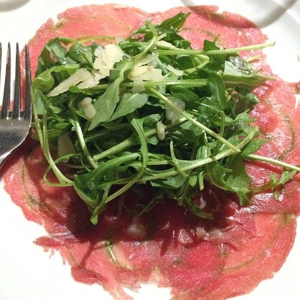 Beef Carpaccio @ Norwegian Star- La Cucina