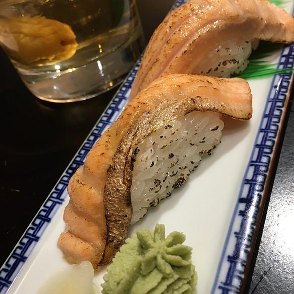 Salmon sushi @ Itoya Japanese