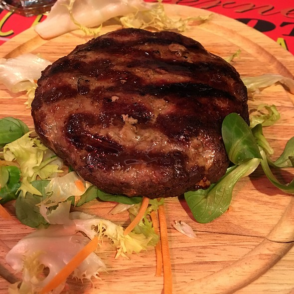 Hamburger di Angus  @ Vineria