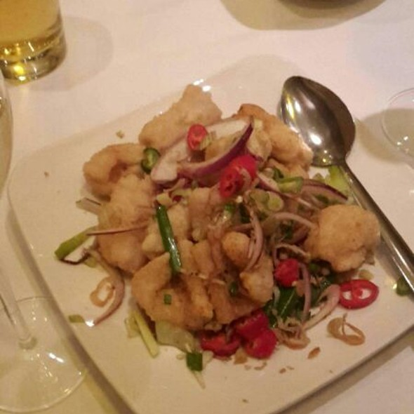Chilli Pepper Salt Squid