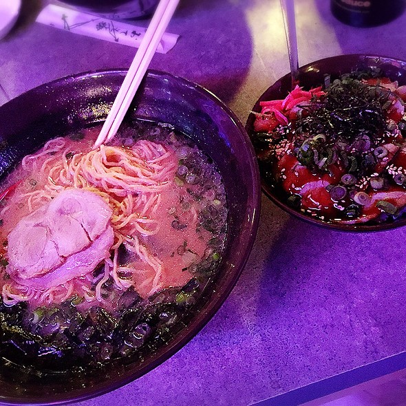 Ramen & Pork BBQ Don