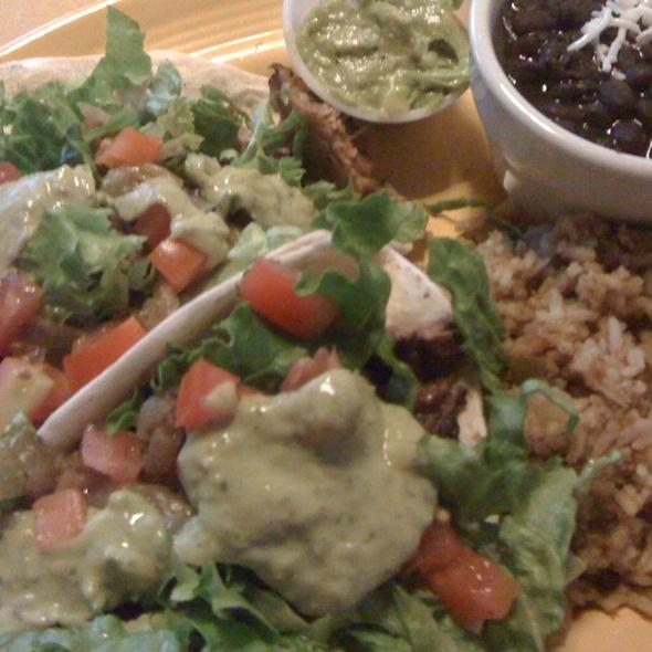 Brisket Tacos @ Red's Porch