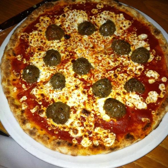 Meatball Pizza @ Otto Enoteca & Pizzeria
