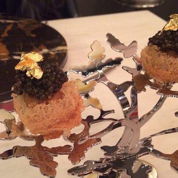 Caviar, Taro Nest, Quail Egg