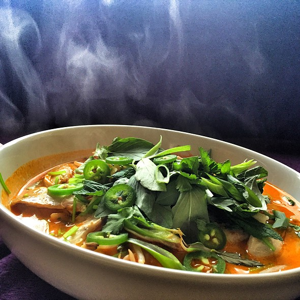 Malaysian Chicken Curry Noodle Soup @ Little Venice Country Park