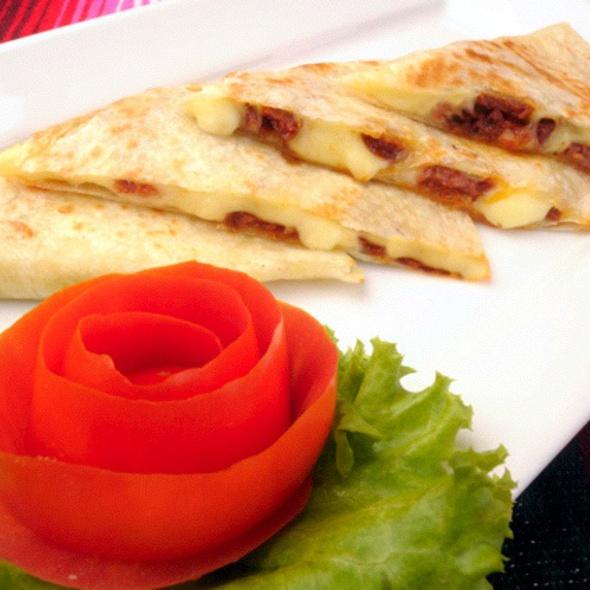 Quesadilla Con Chorizo @ Tacos & Salsa