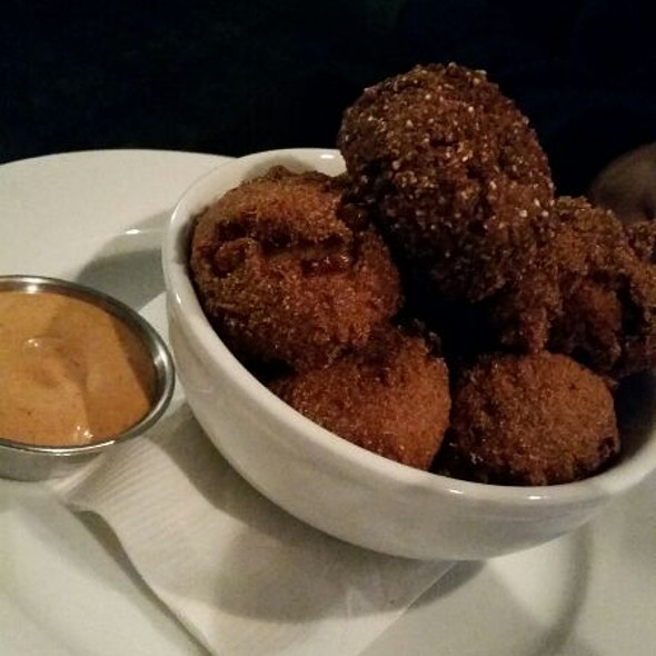 Blue And Yellow Corn Meal Hushpuppies @ Johnny Rad's