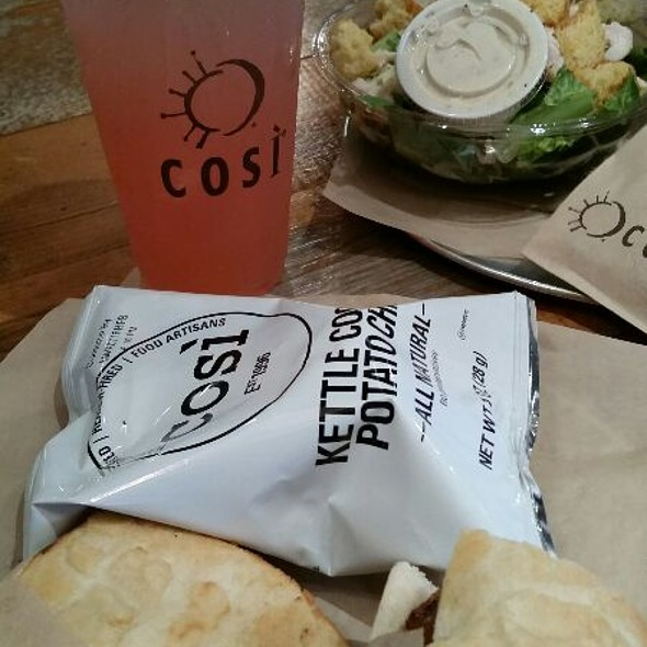 Bahmi Pork Belly And Salad @ Cosi