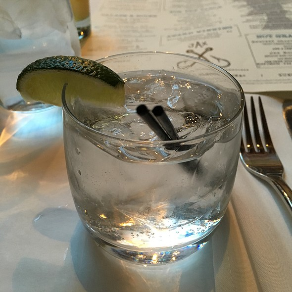 gin and tonic - Jax Fish House and Oyster Bar- Boulder, Boulder, CO