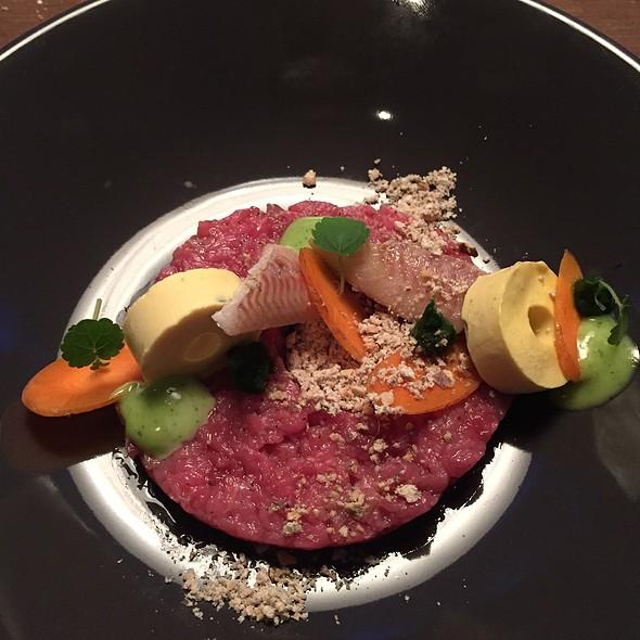 Beef Steak Tartare With Smoked Eel