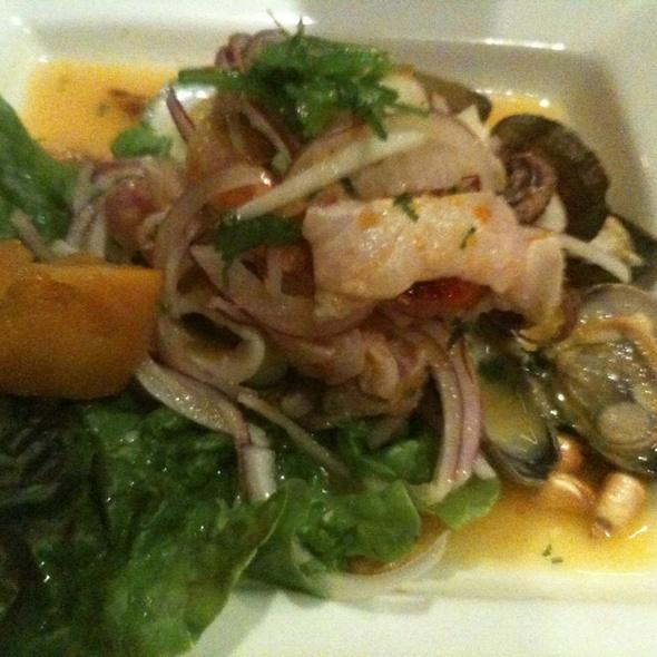 Cebiche Mixto @ Mochica Peruvian Restaurant