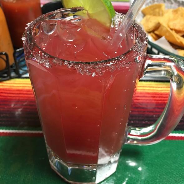 Strawberry Margarita @ Huraches Morleon