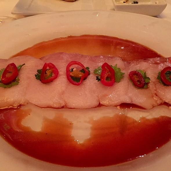Hamachi Sashimi With Cilantro, Red Chile, And Ponzu - Wildfish Seafood Grille - Scottsdale, Scottsdale, AZ