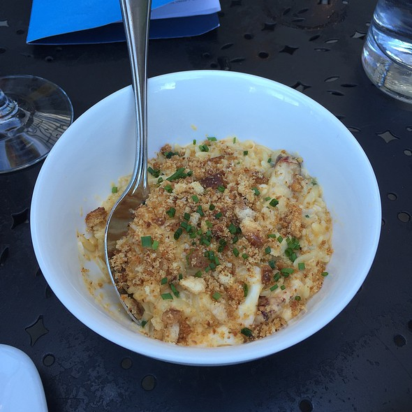 "Uni & Dungeness ""Orzotto"" - Willi's Seafood & Raw Bar, Healdsburg, CA"