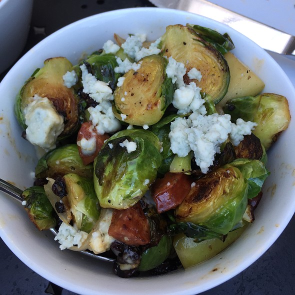 Carmelized Brussel Sprouts - Willi's Seafood & Raw Bar, Healdsburg, CA