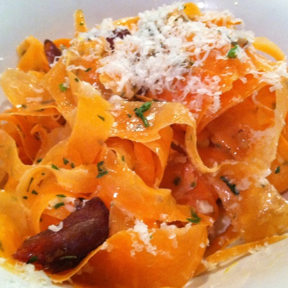 Carrot Salad With Lemon, Olive Oil, Dates, & Grated Cheese @ Lincoln