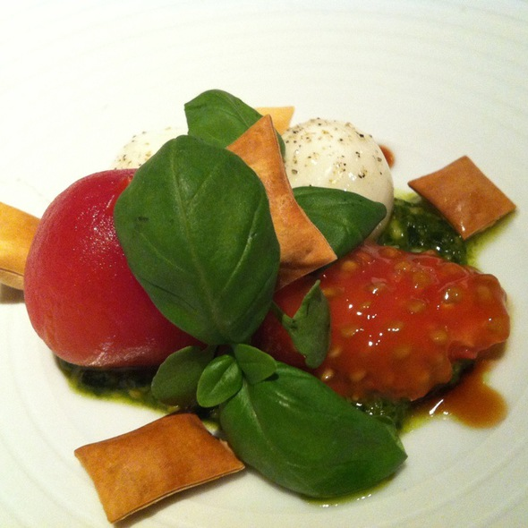 Not Your Everyday Caprese @ The Bazaar by Jose Andres