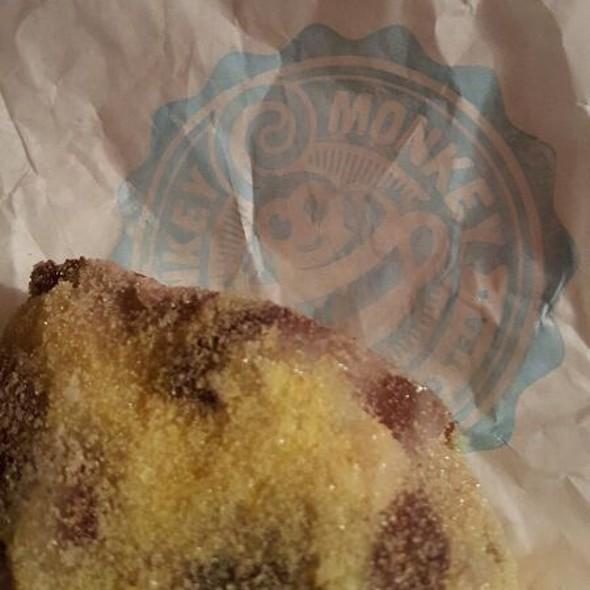 King Cake @ Monkey Monkey Coffee & Tea
