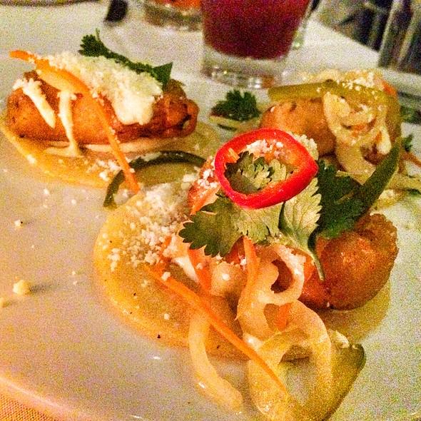 The mission menu scottsdale az foodspotting for Baja fish tacos menu