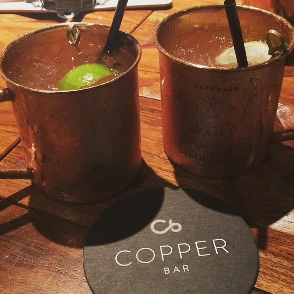 Mauna Kea Mule @ The Copper Bar At Mauna Kea Beach Hotel