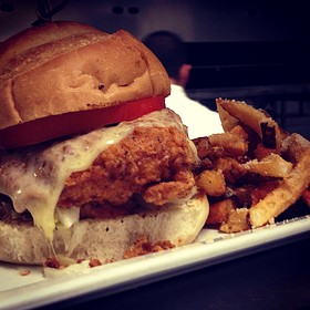Fried Chicken Sammy