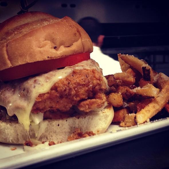 Fried Chicken Sammy - Brownstone, Boston, MA