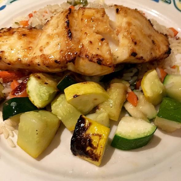Grilled Haddock With Orange Sesame Glaze - The Sole Proprietor, Worcester, MA