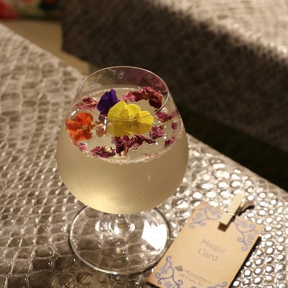 Rose Garden Soda 玫瑰花園特飲 @ DK Cuppa Tea Sheung Wan
