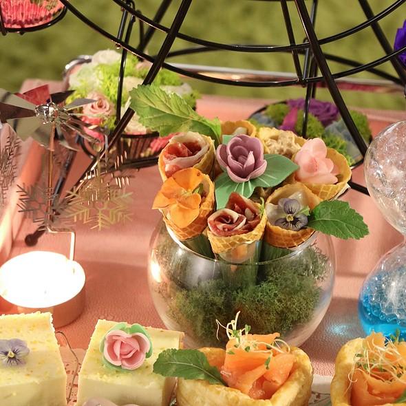 Flowerpot of Savouries 花盆造型鹹點