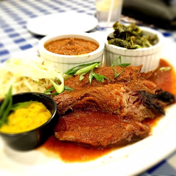 Beef Brisket Platter @ Memphis Fire Barbeque Company