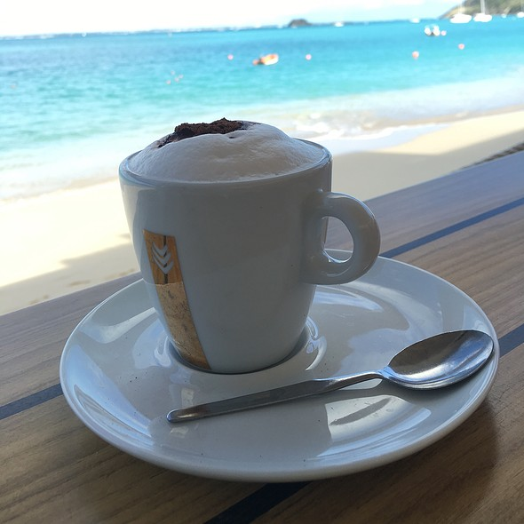 Cappuccino @ Rainbow Cafe