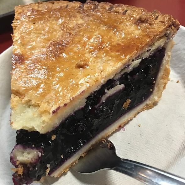 Blueberry Pie @ Philippe's French Dip Restaurant