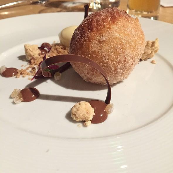 Raspberry Yeast Doughnut