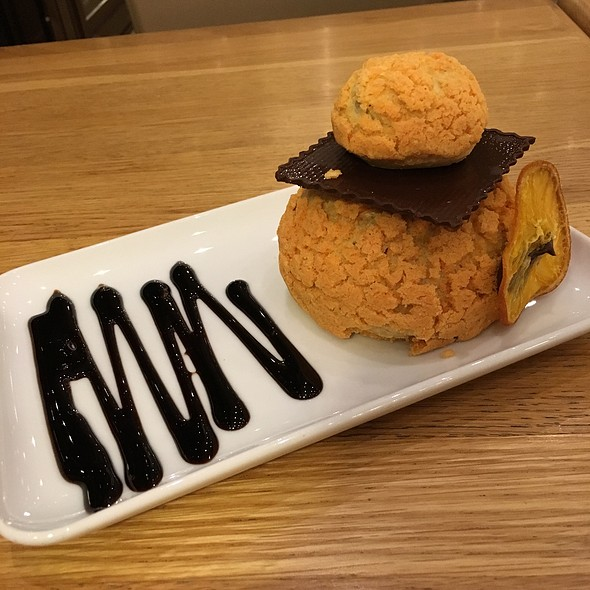 Orange almond cake @ Uzay Pastanesi