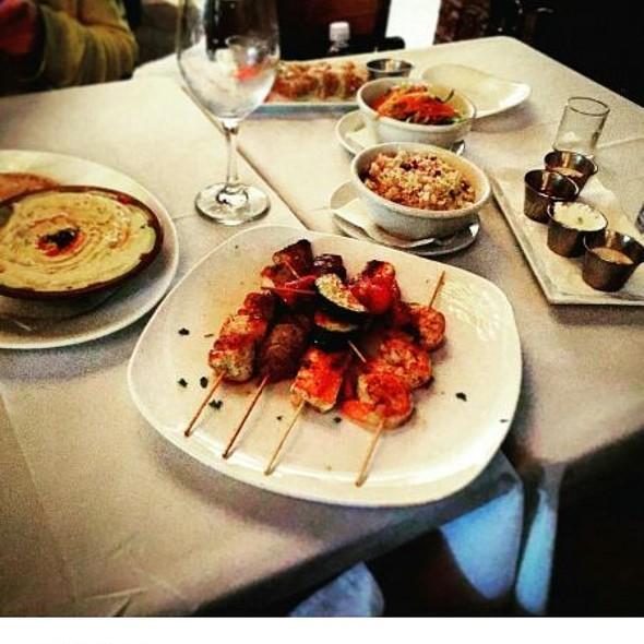 Kebab Platter With Basmati Rice
