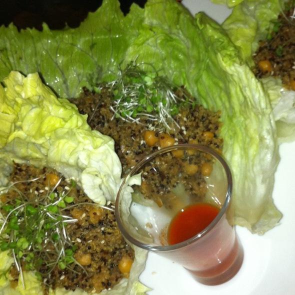 Vegan San Choi Bau @ Threeworlds Organic Cafe