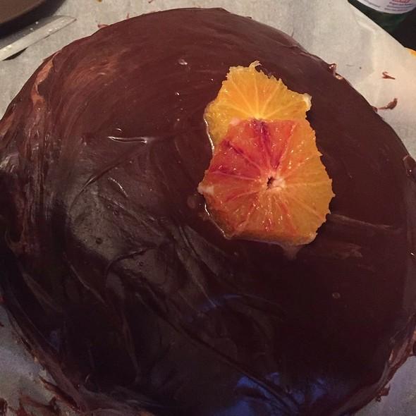 Choco / Orange Cake