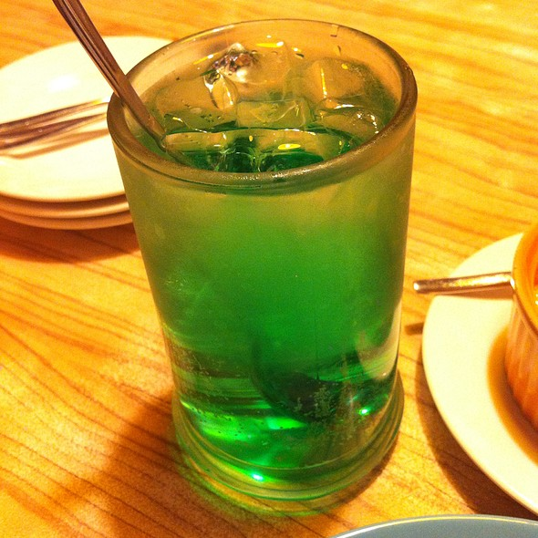 Mint Sparkling Soda