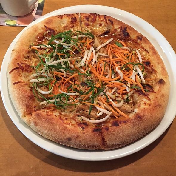 attractive California Pizza Kitchen West County #6: Thai Chicken Pizza at California Pizza Kitchen