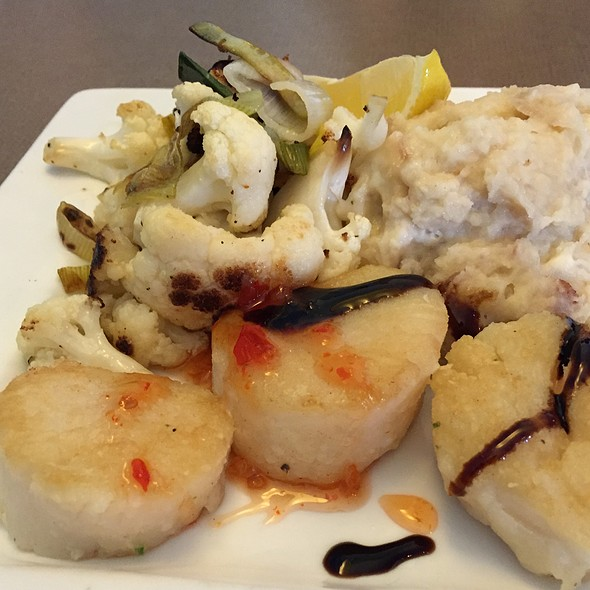 Scallops @ Seabreeze Fish Market & Grill