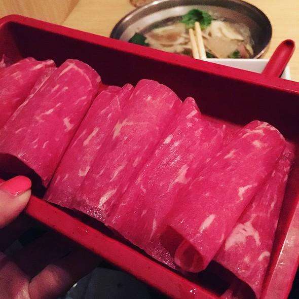 Beef @ Suki Thai Shabu