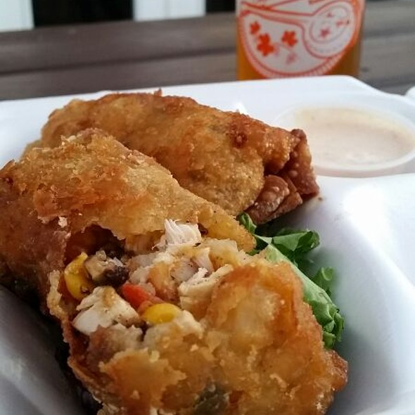 Southern Western Chicken Egg roll