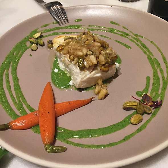 Halibut With Pistachio