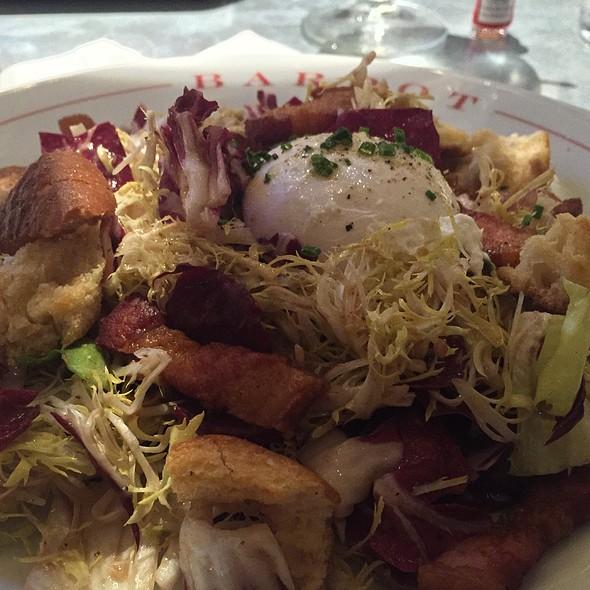 Frisee aux Lardons Salad