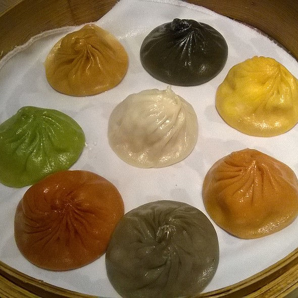 皇朝八色小籠包 Signature Dynasty Xiao Long Bao in 8 Flavours