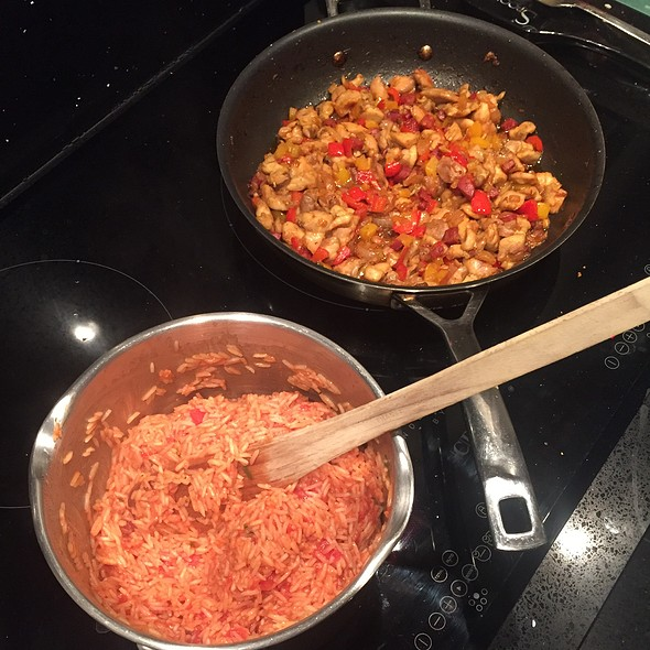 Making Jambalaya @ Home